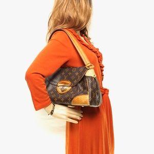 Auth Louis Vuitton Beverly Mm Bag #975L23